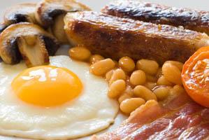 Kraftig start på dagen med engelsk frokost
