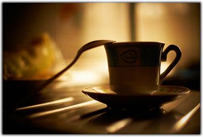 Om litt er kaffen klar