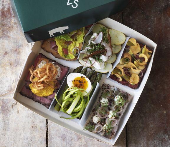 Topp 10 steder i København å spise lunsj