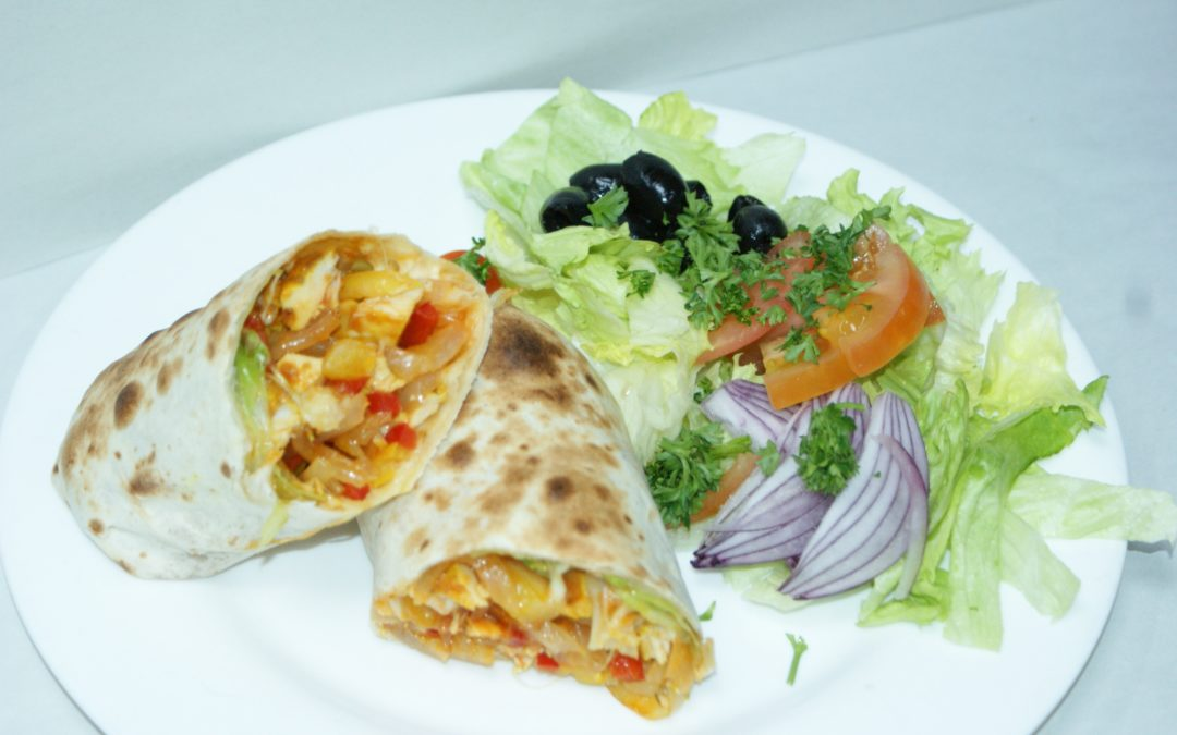 Indiske Kati-rolls (street food)
